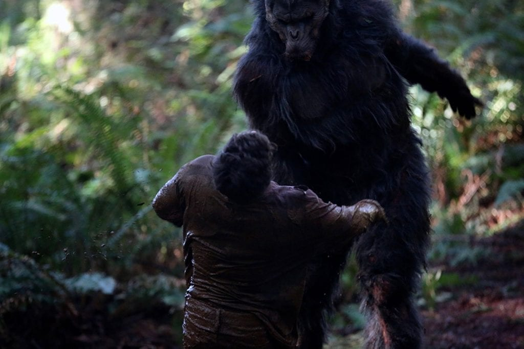 Primal rage with director Patrick Magee, pic of yowie