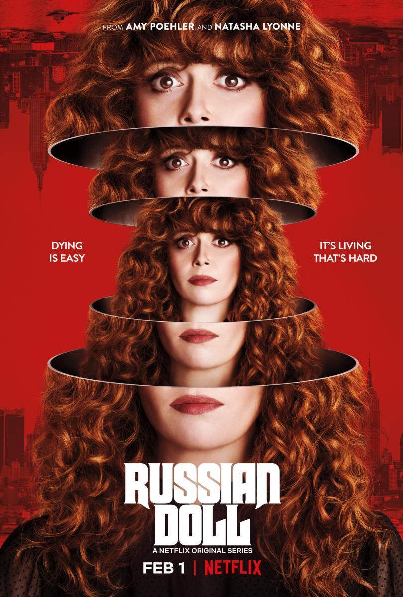Russian Doll Poster starring Natasha Lyonne