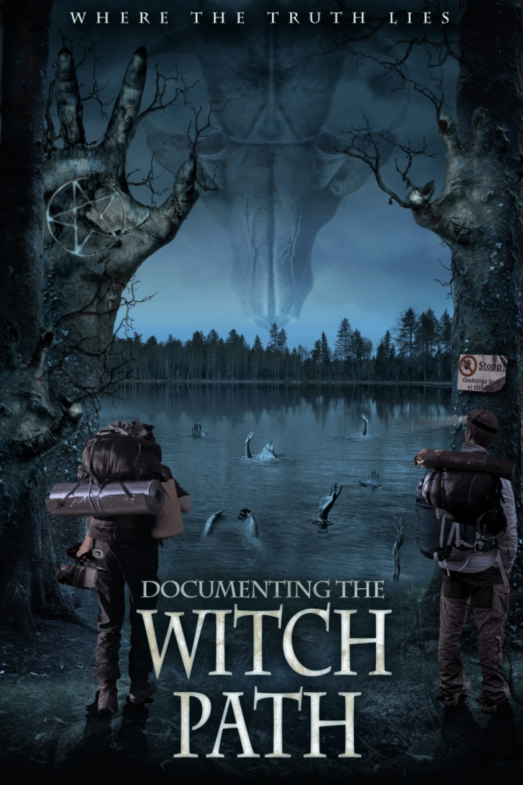 Documenting the Witch Path - Official Poster Ryan Brookhart