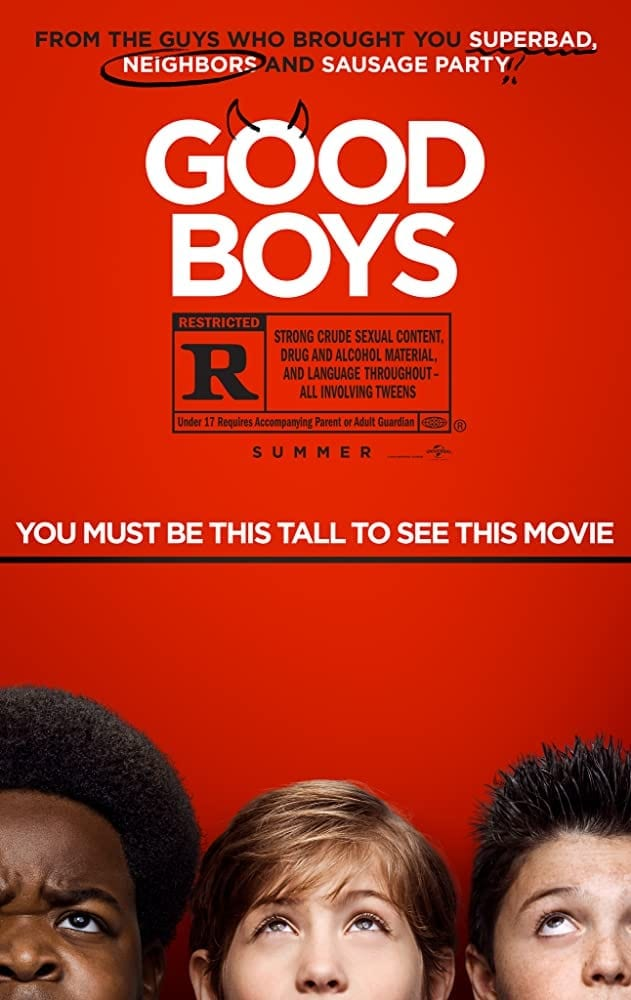 Good Boys Movie Review R Rated Comedy