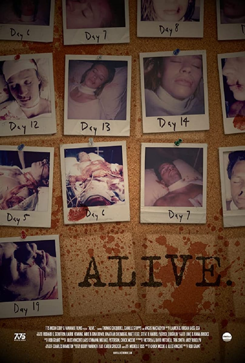 Horror Movie News: Rob Grant Is Back With Alive + Trailer + Images - Mother of Movies