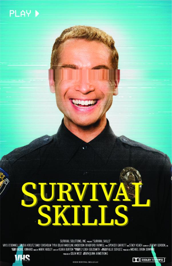 Survival Skills Poster. Best movie of 2020.