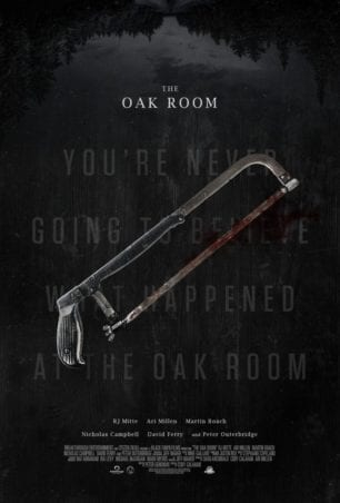 The Oak Room - Poster Best new thriller movies