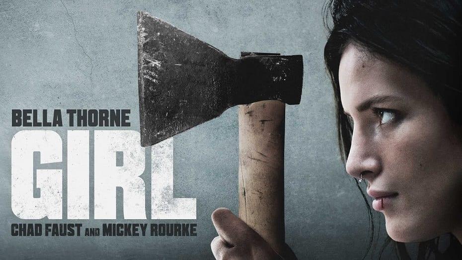 Mickey Rourke stars in Girl 2020