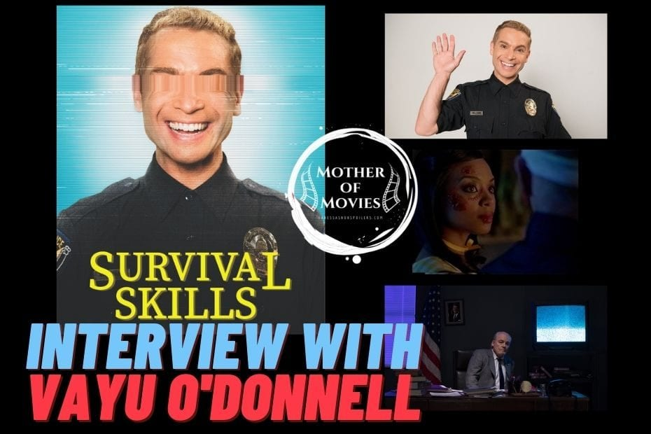 Interview with Vayu O'Donnell on Mother of Movies vanessasnonspoilers.com