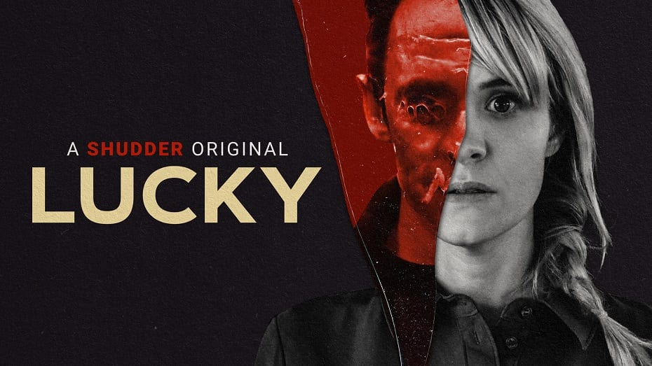 Lucky 2021 poster courtesy of Epic Pictures Group Photo Credit Shudder