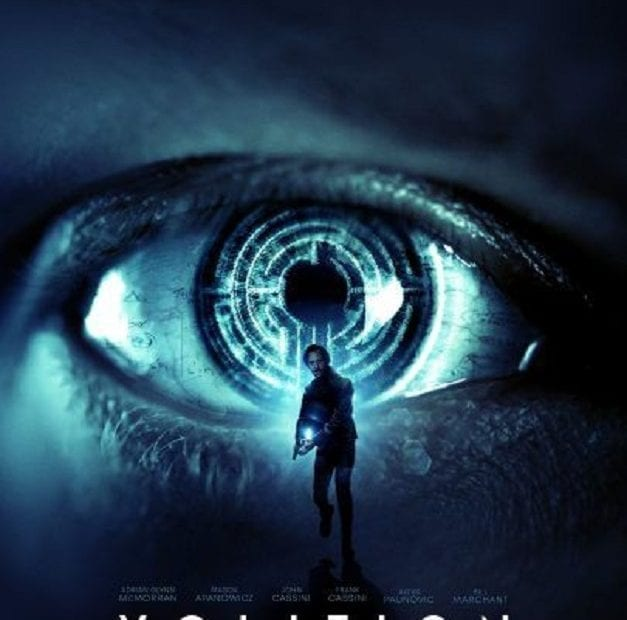 Clairvoyant movie, Volition movie poster courtesy of Giant Pictures