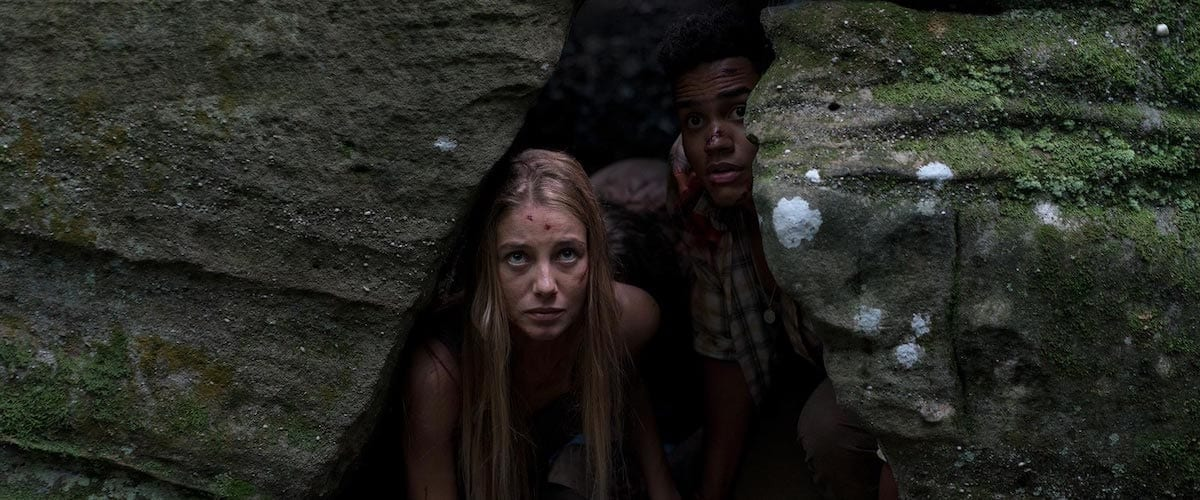 Wrong Turn 2021 starring Charlotte Vega and Adain Bradley