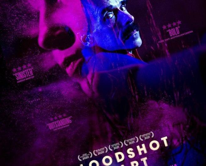 Bloodshot Heart (Poster) courtesy of Bloodshot Pictures and Fantaspoa Film Festival 2021