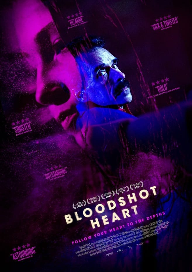 Fantaspoa 2021 Aussie Giallo Horror Bloodshot Heart Review