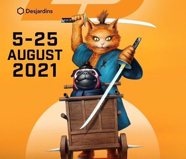 Fantasia 2021 Poster Courtesy of Donald Caron