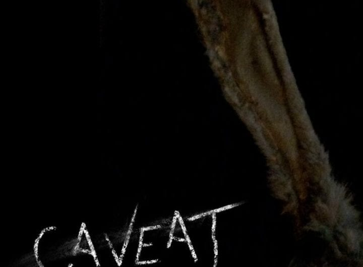 Caveat Poster and review on Mother of Movies courtesy of Shudder