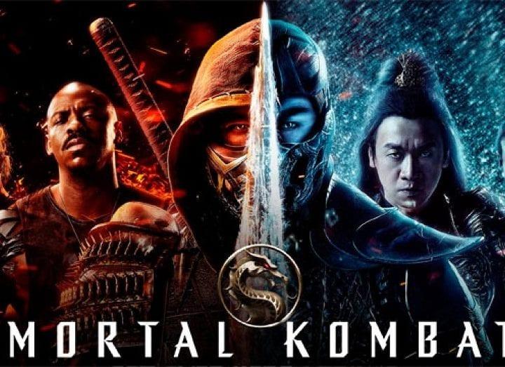 Mortal Kombat 2021 Poster Mk courtesy of Warner Bros. Home Entertainment